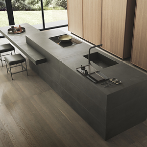 Laminam in the kitchen: high-performance antibacterial ceramic surfaces for unique, refined design